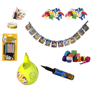 NHR Special Birthday Decoration Kit For Boy 67 Pieces