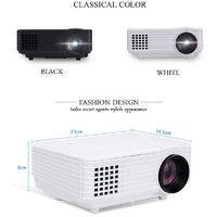 Cubit Full HD LED 2000 Lumens Projector