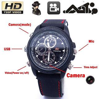 OnsIndia 4GB Sportz Spy Camera Watch Video Sound Recorder