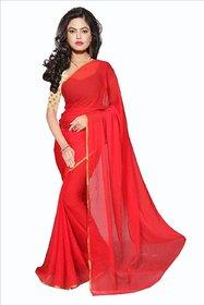 A R Store Multicolor Art Silk Self Design Saree With Blouse