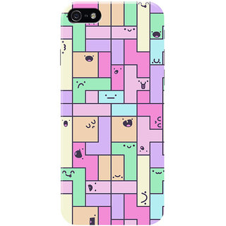 HACHI Puzzle Mobile Cover for Apple iPhone SE
