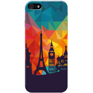 HACHI Beautiful City Mobile Cover for Apple iPhone 5