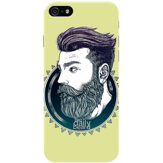 HACHI Cool Beard Mobile Cover for Apple iPhone 5
