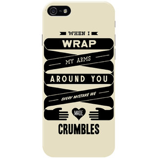 HACHI Cool Case Mobile Cover for Apple iPhone 5