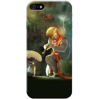 HACHI Jai Hanuman Ji Mobile Cover for Apple iPhone 5
