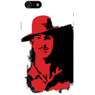 HACHI Bhagat Singh Ji Mobile Cover for Apple iPhone 5