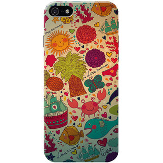 HACHI Love Summer Mobile Cover for Apple iPhone 5
