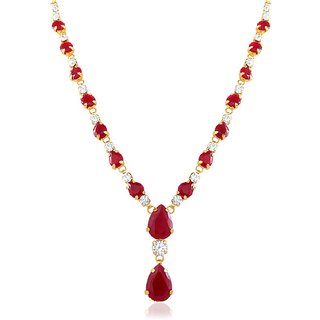 Gold Plated Charismatic Pendant With Crystal For Women