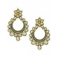 Zaveri Pearls Exquisite Kundan Dangle  Earring - ZPFK5751