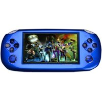 Playstation PSP 4GB Handheld Console Games ( Blue ) Wit