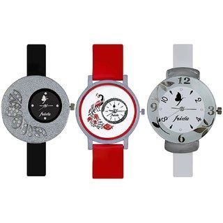 i DIVAS  Women Set of 2 Combo Watches For Girls