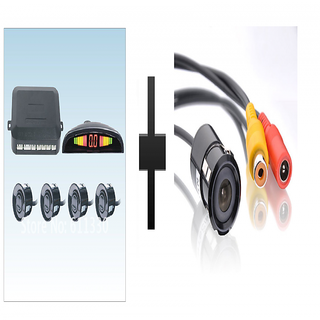 s4d Black Car back sensor and car camera
