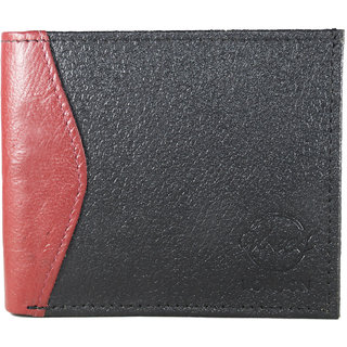 Vbee's London Boys Black, Red Genuine Leather Wallet