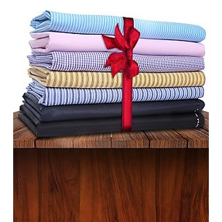 Gwalior Suiting's Formal Wear - Pack Of 20 (10 Shirts And 10 Pants Fabric)