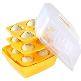 Microwaveable 12 pcs idli maker