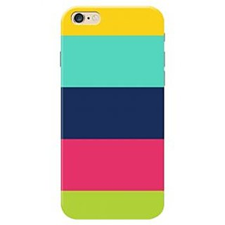 HACHI Colorful Pattern Mobile Cover for   6S Plus