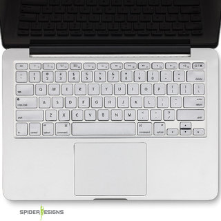 Spider Designs Macbook Pro Retina 13 Keypad Cover -Grey