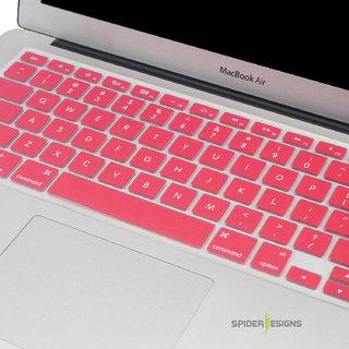 Spider Designs Macbook AIR 13 Keypad Cover -Rose Pink