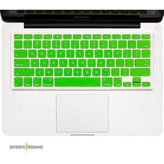 Spider Designs Macbook AIR 13 Keypad Cover -Green