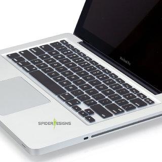 Spider Designs Macbook PRO 13 Keypad Cover -Black