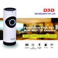 D3D Wireless Fisheye Vision 180 Panoramic IP Camera CCT