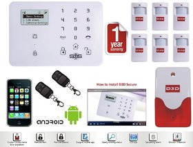 LCD Security Wireless GSM Auto Dial Home Office Burglar Intruder Alarm SALES