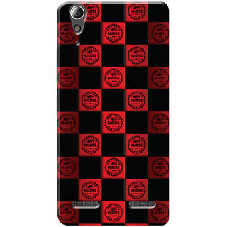 Roadies Hard Case Mobile Cover For Lenovo A6000 Plus