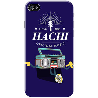 HACHI Cool Case Mobile Cover for   4S
