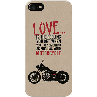 HACHI Love Motorcycle Mobile Cover for   7