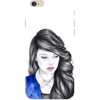 HACHI Beautiful Girl Mobile Cover for   6 Plus
