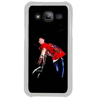 Fuson Designer Phone Back Case Cover Samsung Galaxy J2 ( A Man Dancing )