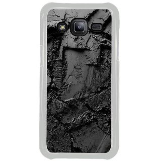 Fuson Designer Phone Back Case Cover Samsung Galaxy J2 ( Scratches On The Wet Sand )