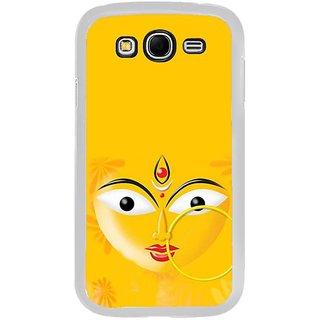 Fuson Designer Phone Back Case Cover Samsung Galaxy Grand Max ( Face Of Kali Mata )