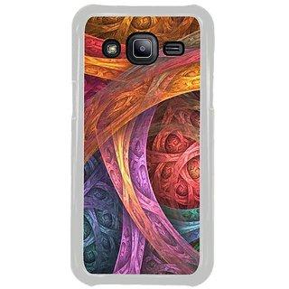 Fuson Designer Phone Back Case Cover Samsung Galaxy J2 ( Random Bold Strokes Of Colour )
