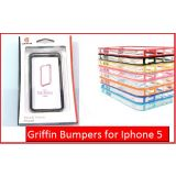 Griffin Reveal Frame Bumper Back Less Case Cover IPhone 5 Available Colours-White/Black/Orange/Blue/Pink/Yellow