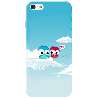 HACHI Love Birds Mobile Cover for   5C