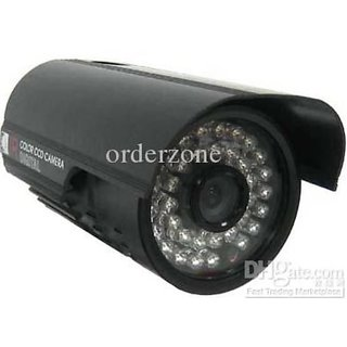 KYLOCAM BULLET 36IR LED 700 TVL WEATHER PROOF CCTV CAMERA - BLA WITH STAND