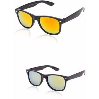 95939d20c86 Buy RBC1-10-C1-14 Glitters Combo Of Black Mirrored Wayfarers Online ...