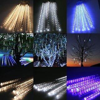merrylight 50cm 8 tube 240 leds rgb led waterproof snowfall meteor light christmas lights outdoor 100 - Meteor Christmas Lights