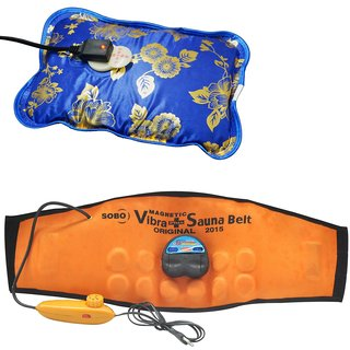 Deemark Combo Of Warm Bag With Sauna Belt