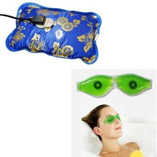 Deemark Combo Of Warm Bag With Eye Mask