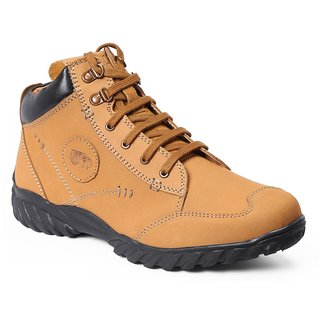 1fd51048a5863 Red Chief Rust Men High Ankle Outdoor Casual Leather Shoes (RC3403 022) 45%  off