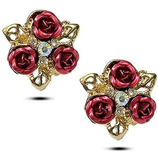 YouBella Gracias Collection Crystal Jewellery Fancy Party Wear Earrings For Girls And Women