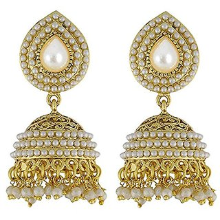 Youbella Gold Plated Jhumki Earrings For Girls And Women