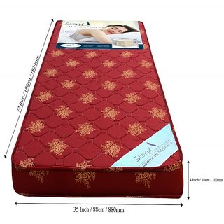 Story @ Home Maroon Foam Matress