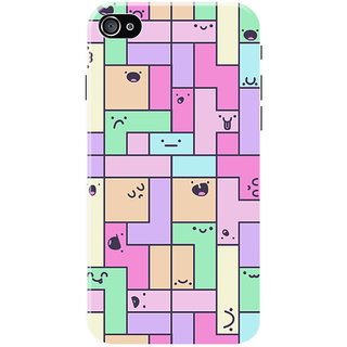 HACHI Puzzle Mobile Cover for   4S