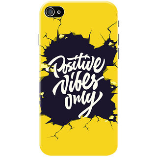 HACHI Positive Vibes Only Mobile Cover for   4