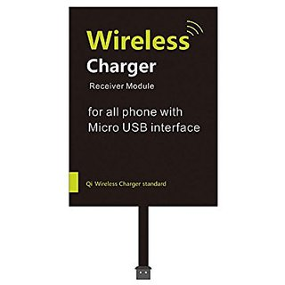 Wireless Charging Receiver Android, YAMAY Universal Micro USB Qi Standard  Wireless Charger Receiver Module Patch Card for Samsung Galaxy S3/ S5/ S4/