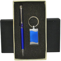Knight N Day Ocean Blue Corporate Pen Gift Set
