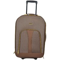 Panther Expandable Trolley Case - Brown Color- Size 24 Inches